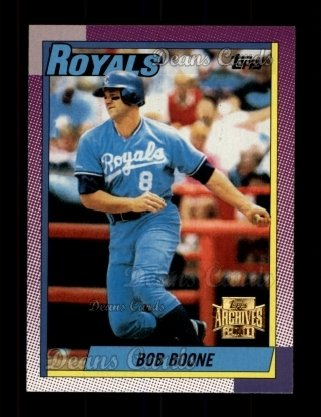 2001 Topps Archives #374   -  Bob Boone 90 Topps