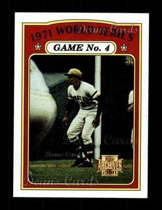 2001 Topps Archives #449   -  Roberto Clemente 72 Topps