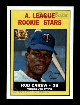 2001 Topps Archives #49   -  Rod Carew 67 Topps