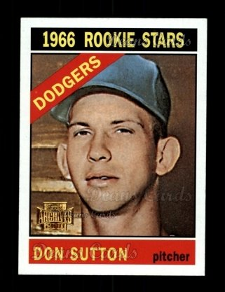 2001 Topps Archives #54   -  Don Sutton 66 Topps
