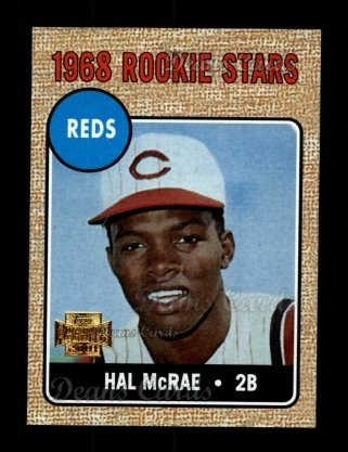 2001 Topps Archives #57   -  Hal McRae 68 Topps