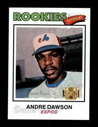2001 Topps Archives #77   -  Andre Dawson 77 Topps
