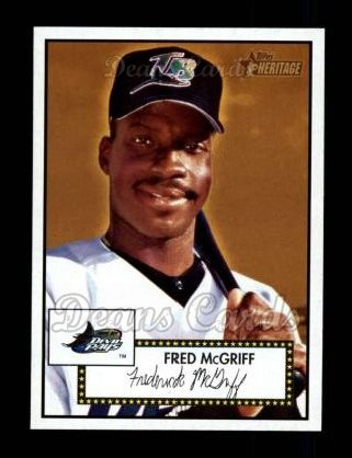 2001 Topps Heritage #131  Fred McGriff