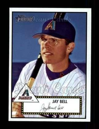 2001 Topps Heritage #255  Jay Bell
