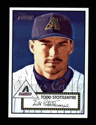 2001 Topps Heritage #268  Todd Stottlemyre