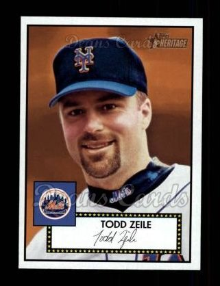 2001 Topps Heritage #320  Todd Zeile