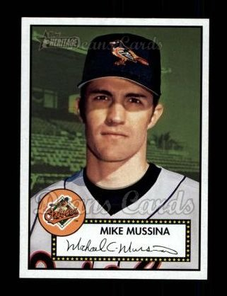 2001 Topps Heritage #365  Mike Mussina