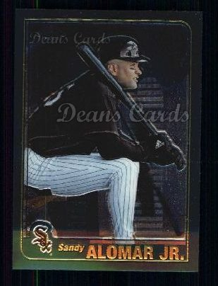 2001 Topps Traded Chrome #1 T Sandy Alomar Jr.