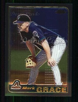 2001 Topps Traded Chrome #17 T Mark Grace