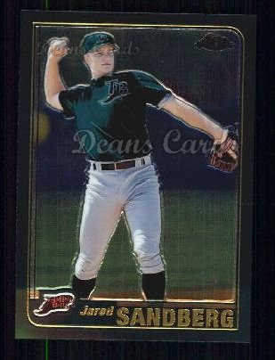 2001 Topps Traded Chrome #192 T Jared Sandberg