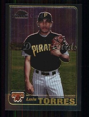 2001 Topps Traded Chrome #249 T Luis Torres