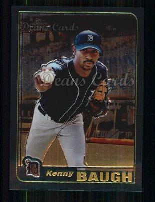 2001 Topps Traded Chrome #265 T Kenny Baugh