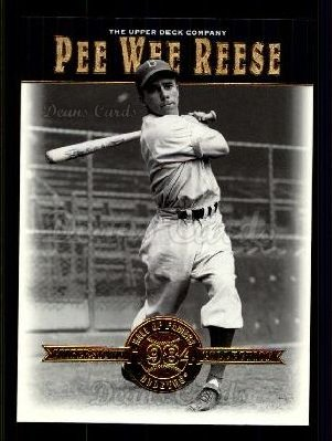# 15 Pee Wee Reese - 2001 Upper Deck Hall of Famers