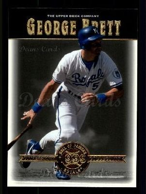 # 38 George Brett - 2001 Upper Deck Hall of Famers