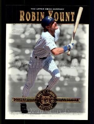# 5 Robin Yount - 2001 Upper Deck Hall of Famers