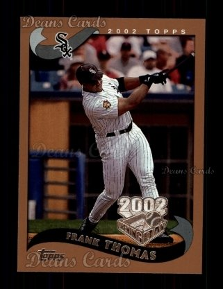 2002 Topps Opening Day #142  Frank Thomas