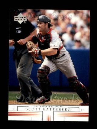 2002 Upper Deck #168  Scott Hatteberg