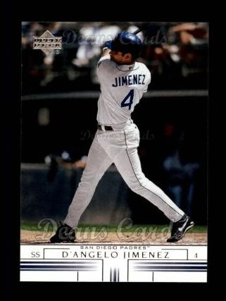 2002 Upper Deck #403  D'Angelo Jimenez