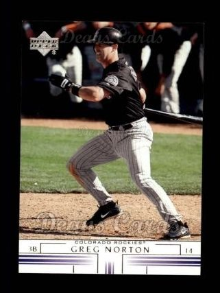 2002 Upper Deck #459  Greg Norton
