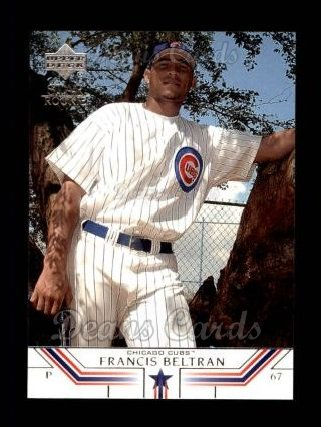 2002 Upper Deck #510   -  Francis Beltran Star Rookie