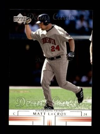 2002 Upper Deck #616  Matt LeCroy