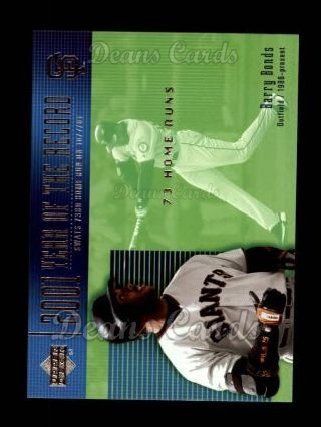 2002 Upper Deck #727  Barry Bonds
