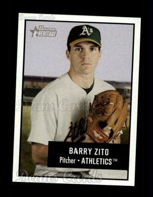2003 Bowman Heritage #135  Barry Zito