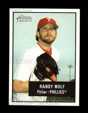 2003 Bowman Heritage #51  Randy Wolf