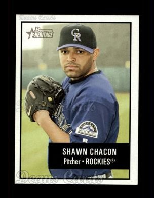 2003 Bowman Heritage #67  Shawn Chacon