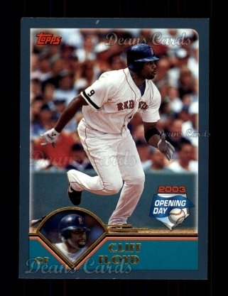 2003 Topps Opening Day #25  Cliff Floyd