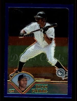2003 Topps Chrome Traded #1 T Juan Pierre