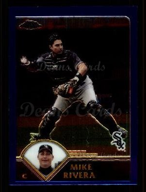 2003 Topps Chrome Traded #11 T Mike Rivera
