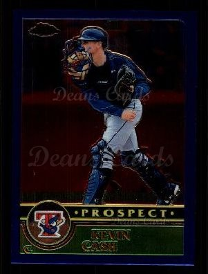 2003 Topps Chrome Traded #123 T  -  Kevin Cash Prospect