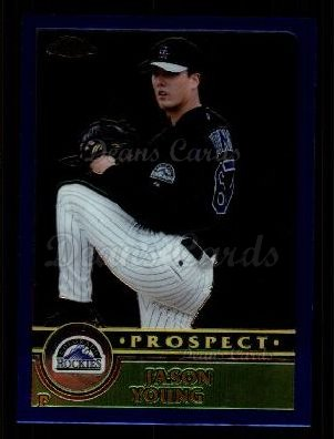 2003 Topps Chrome Traded #127 T  -  Jason Young Prospect