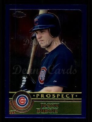 2003 Topps Chrome Traded #129 T  -  Jason Dubois Prospect