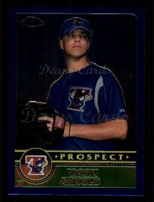 2003 Topps Chrome Traded #160 T  -  Jason Arnold Prospect