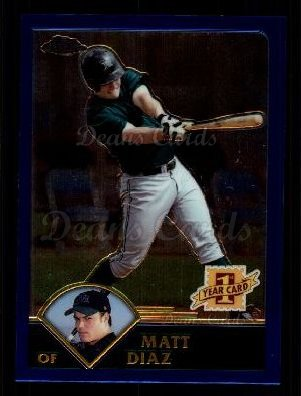 2003 Topps Chrome Traded #170 T  -  Matt Diaz First Year