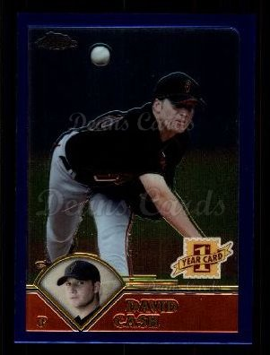 2003 Topps Chrome Traded #223 T  -  David Cash First Year