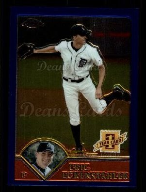 2003 Topps Chrome Traded #253 T  -  Eric Eckenstahler First Year