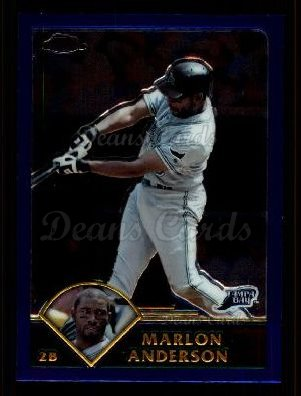 2003 Topps Chrome Traded #8 T Marlon Anderson