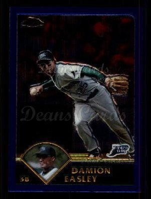 2003 Topps Chrome Traded #80 T Damion Easley