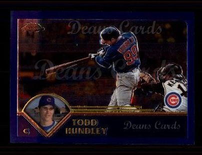 2003 Topps Chrome #164  Todd Hundley