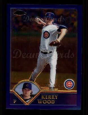 2003 Topps Chrome #177  Kerry Wood
