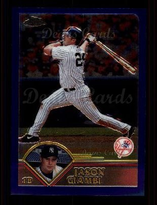 2003 Topps Chrome #182  Jason Giambi