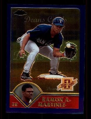 2003 Topps Chrome #214   -  Ramon Nivar-Martinez First Year