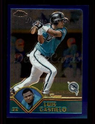 2003 Topps Chrome #52  Luis Castillo
