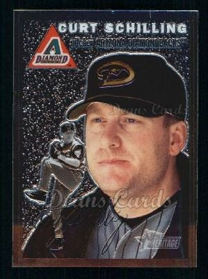 2003 Topps Heritage Chrome #20  Curt Schilling
