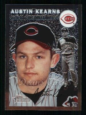 2003 Topps Heritage Chrome #24  Austin Kearns