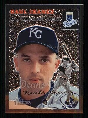 2003 Topps Heritage Chrome #26  Raul Ibanez