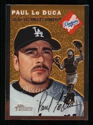 2003 Topps Heritage Chrome #32  Paul Lo Duca